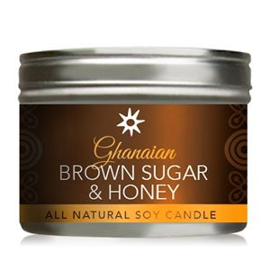 Picture of Ghanaian Brown Sugar & Honey Soy Candle - 10 oz